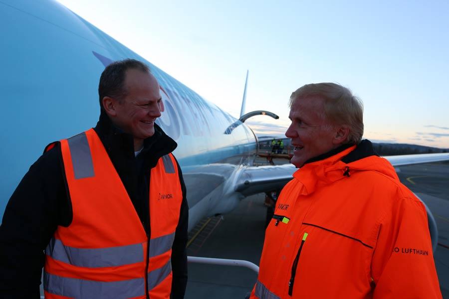 Utreder sjømatsenter på Oslo lufthavn