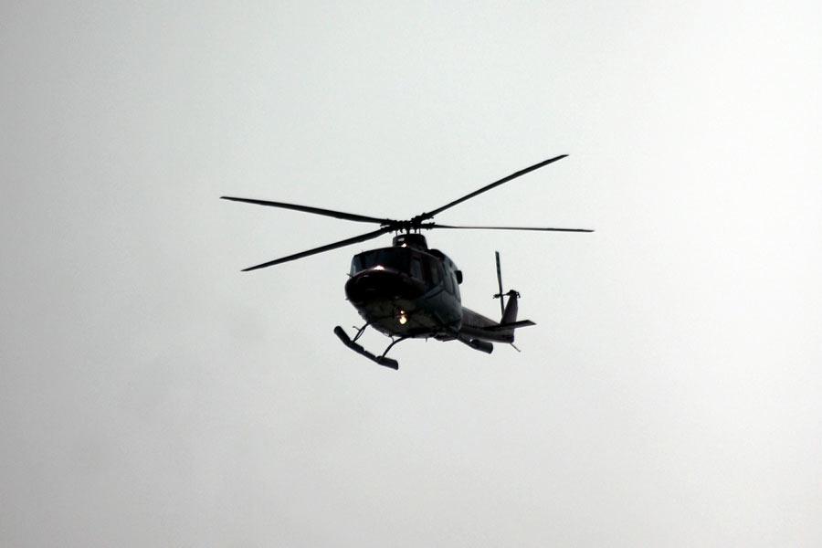Helikopter styrtet i Hordaland