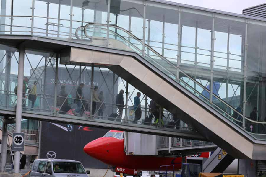 Svak nedgang på Oslo Lufthavn
