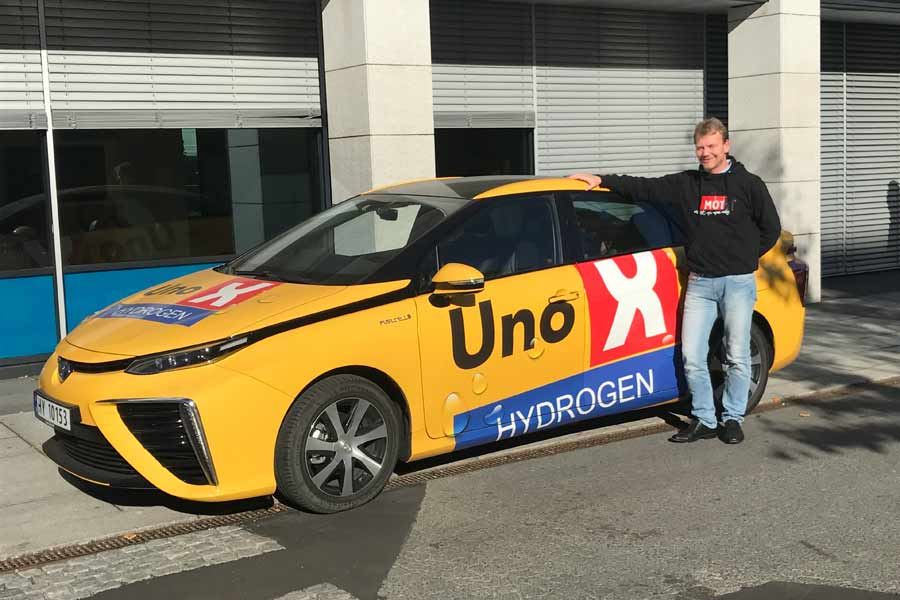 Bergen får hydrogenstasjoner
