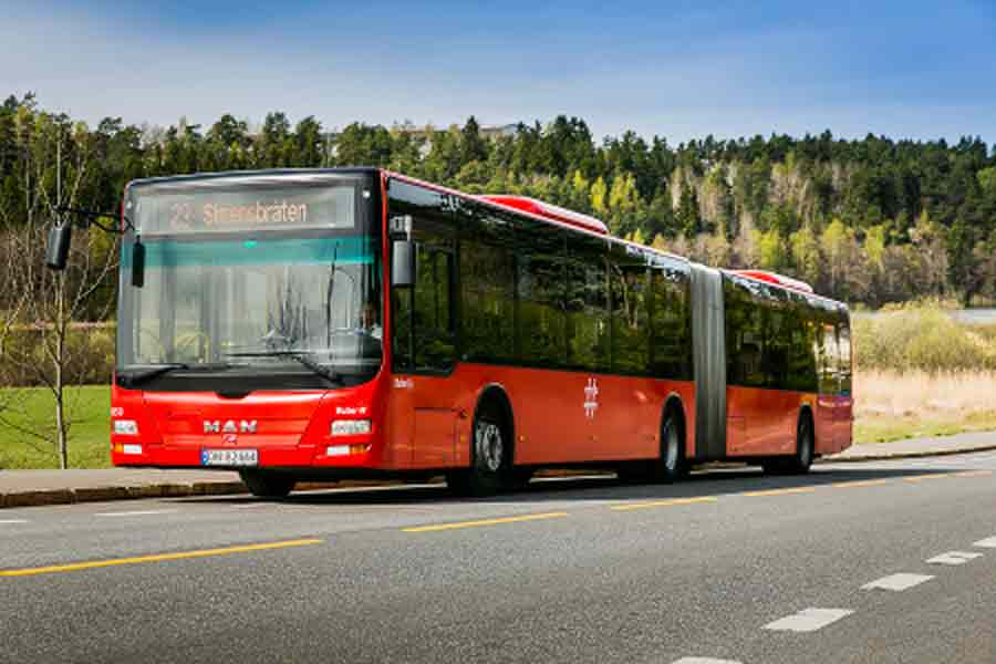 237 fikk buss-beltegebyr