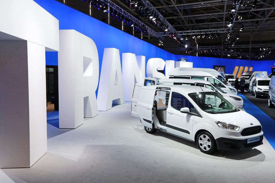 Ford lanserer utvidet Transit-serie