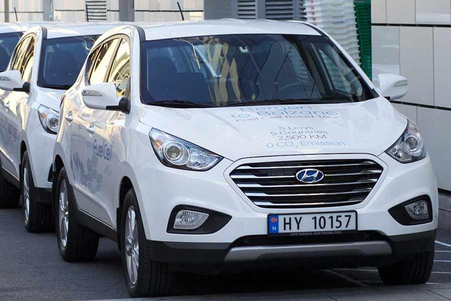 Internasjonal hydrogenbilturné startet i Bergen