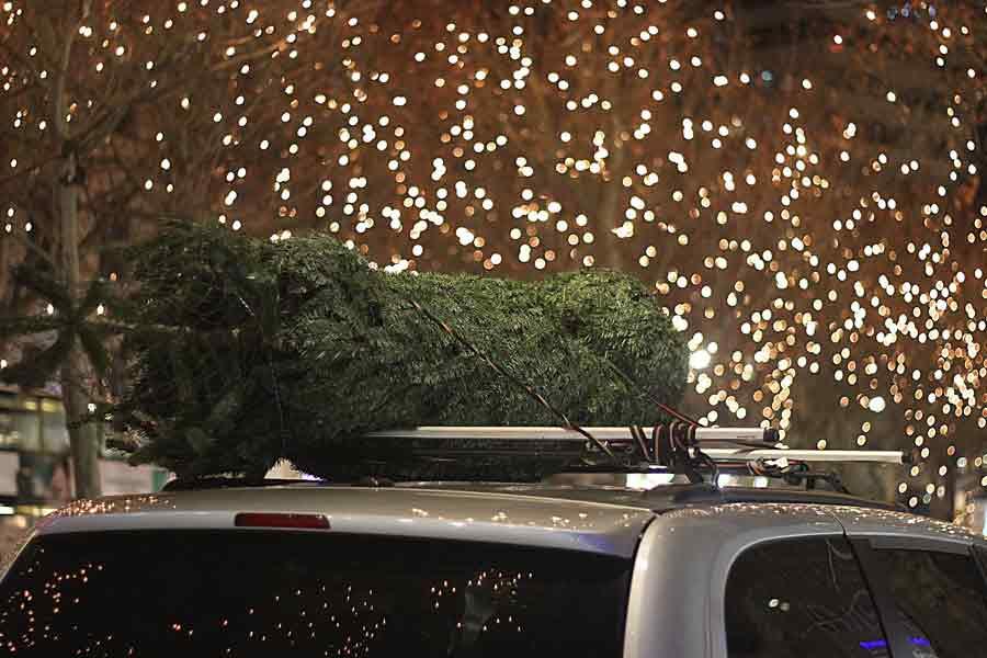 La julefreden senke seg i trafikken