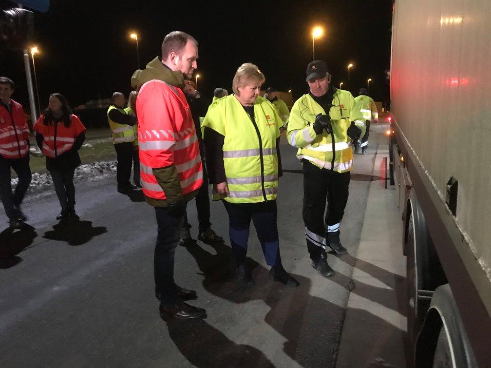 Kontroll av alle vogntog på grensa ga nyttige erfaringar