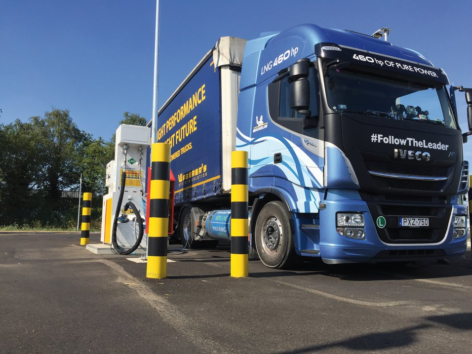 Vil påskynde reduksjonen av karbonutslipp fra veitransport i Europa