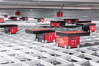Robotiserer lagerhåndteringen med AutoStore