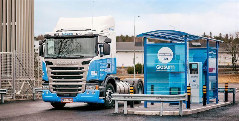 Tungtransporten på vei inn i gassalderen