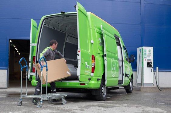 Ikea tar i bruk elektriske varebiler for hjemlevering av varer i Oslo-regionen.
