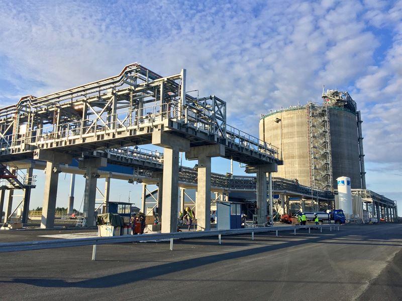 Åpner Nordens største LNG-terminal