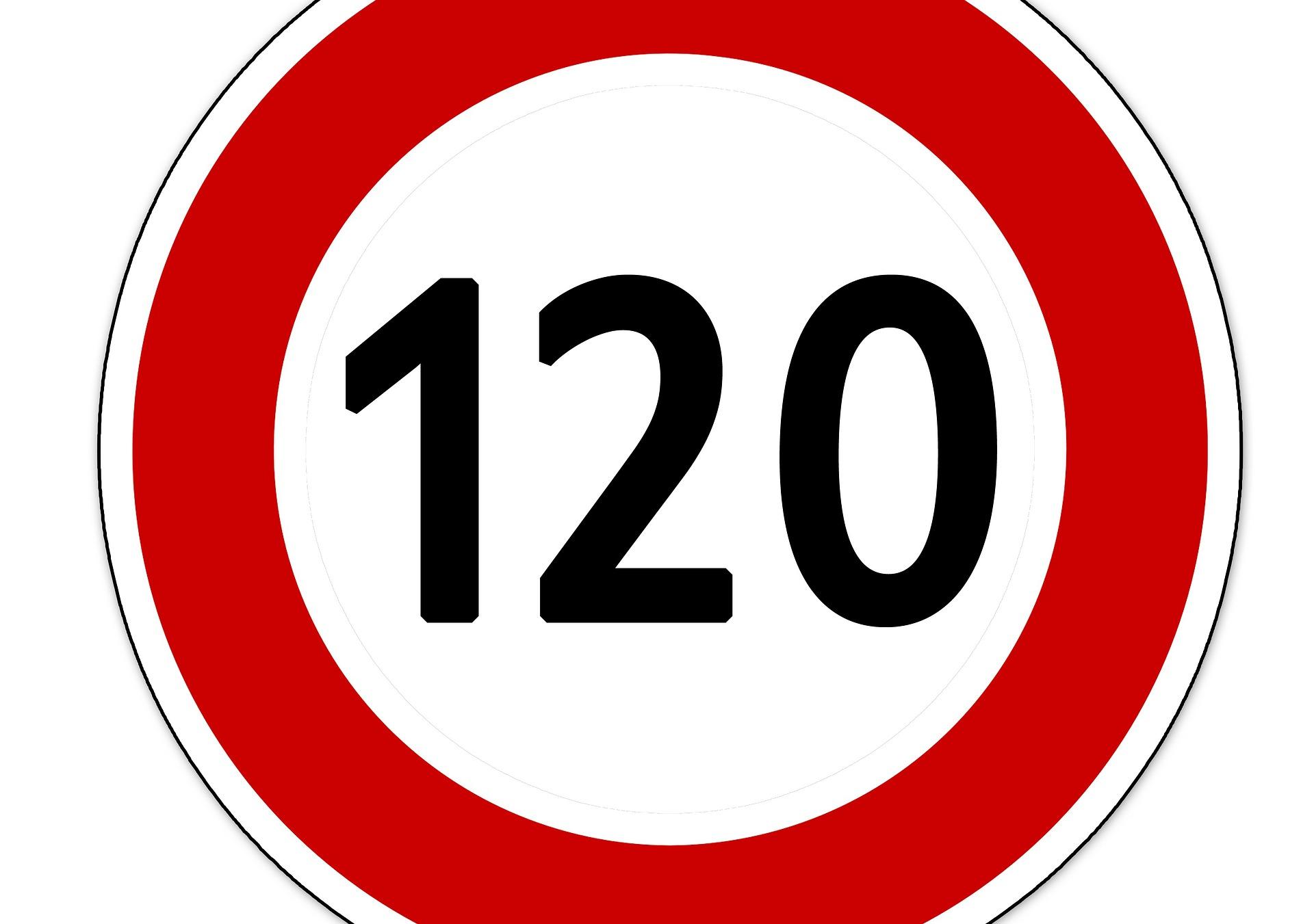 Konsekvensene av 120 km/t på motorveiene