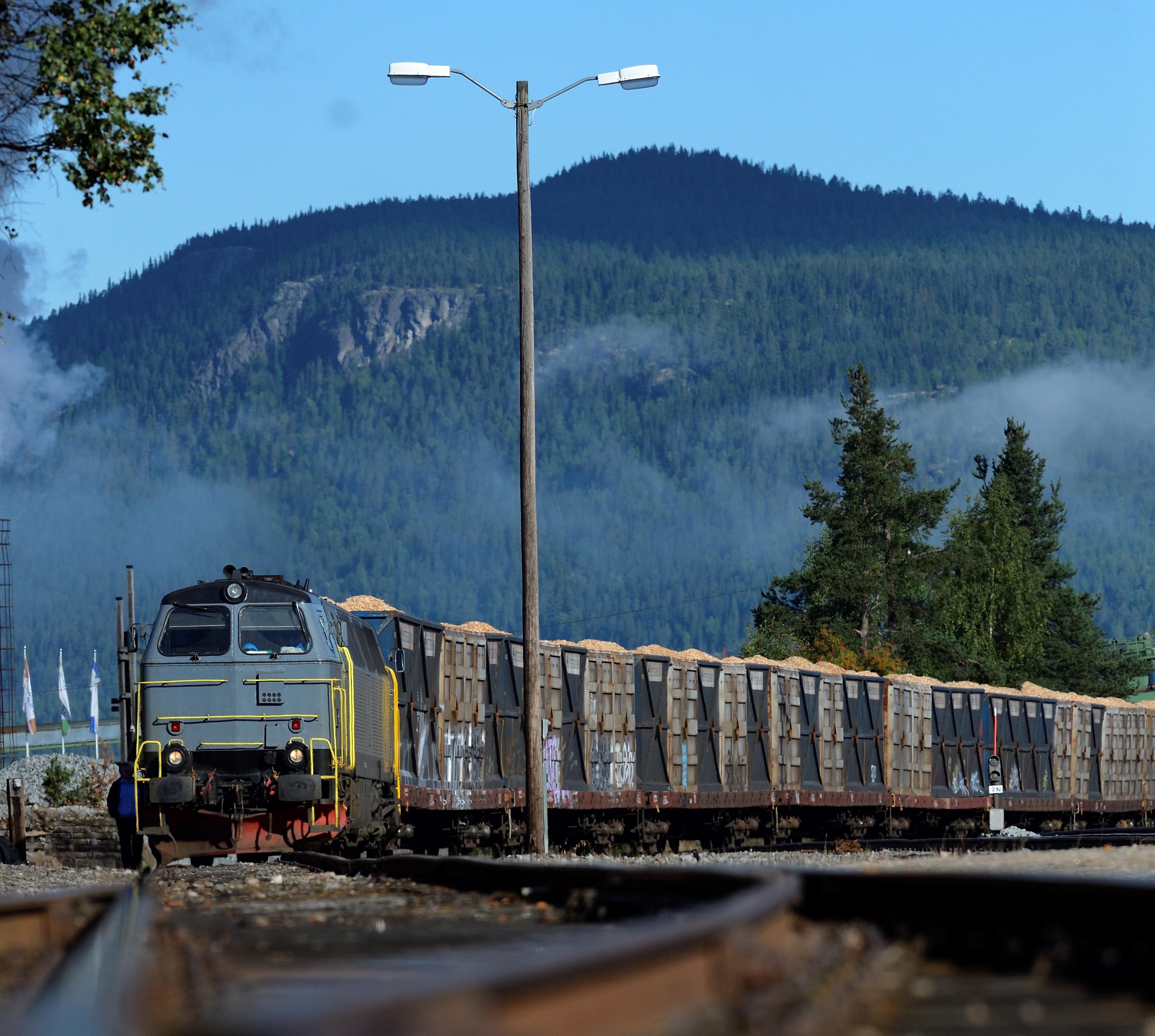 Miljøvennlig transport av gods også når banen er stengt