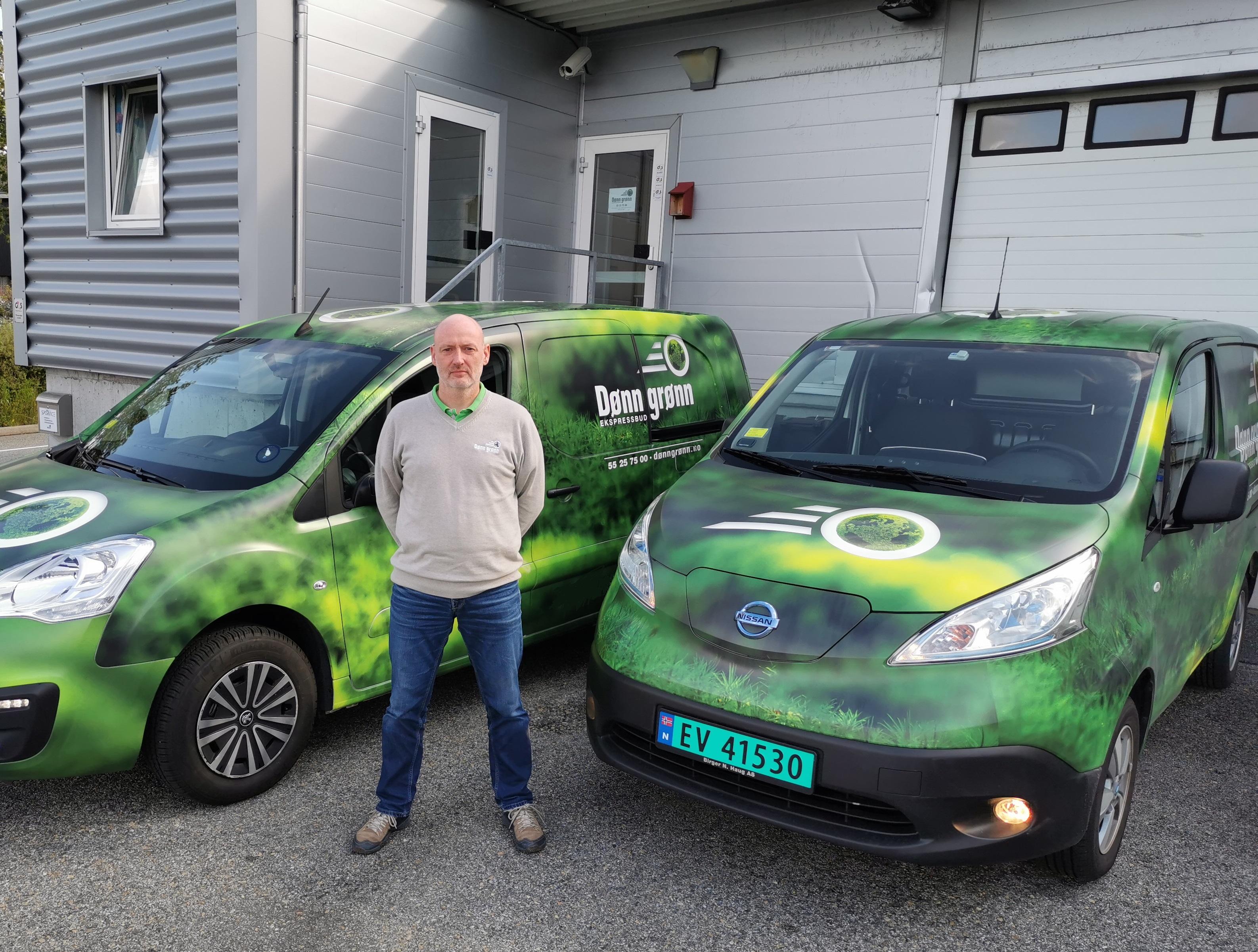 Elektriske budbiler kommer til Bergen