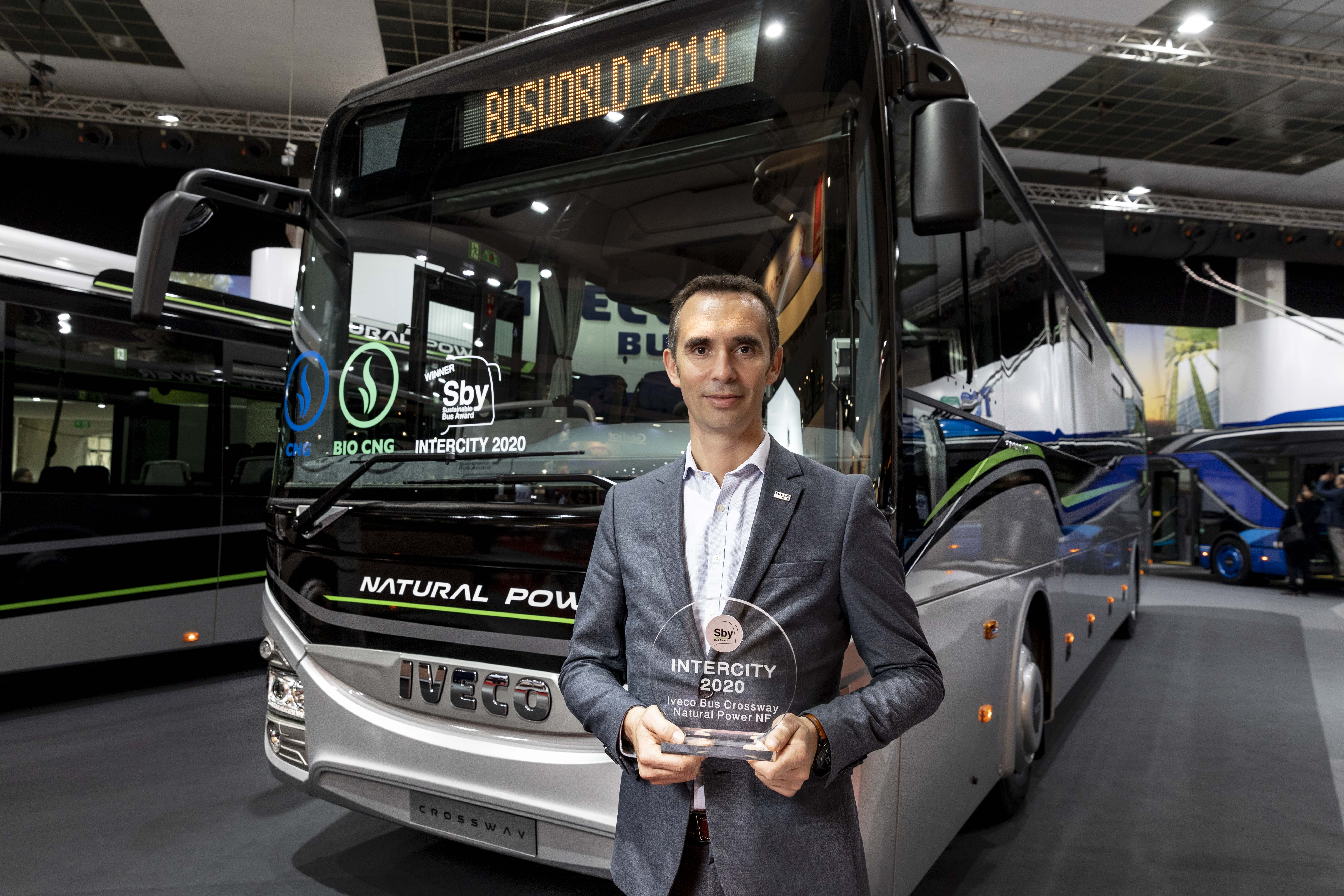 Iveco Bus vinner prisen 'Sustainable Bus of the Year' for tredje år på rad