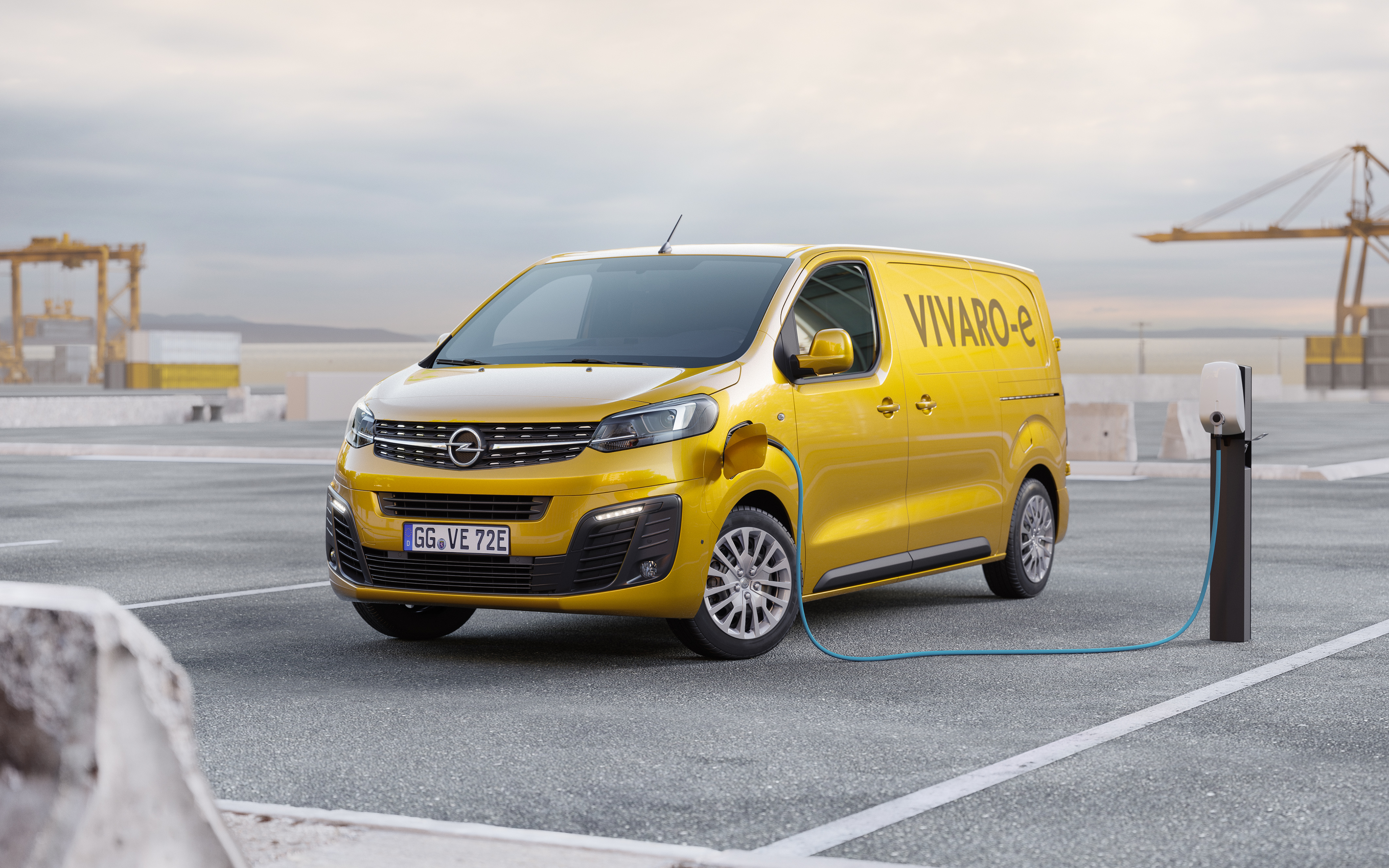 Elektriske varebiler fra Opel