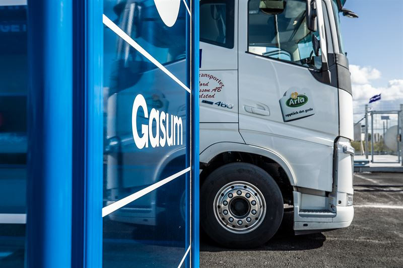 Tilbyr en løsning for renere transport og industri i Sverige