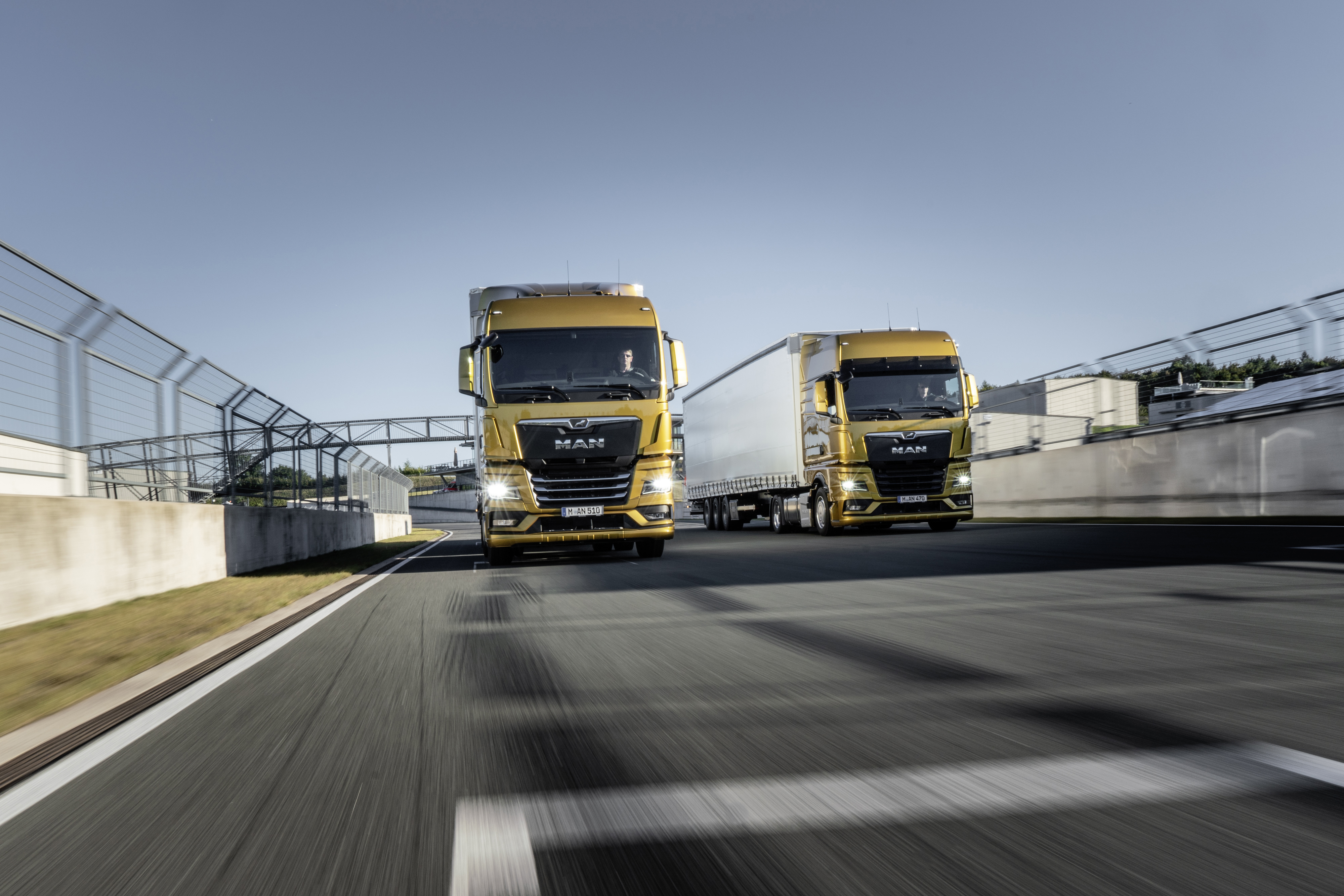 Introduserer nye MAN Truck Generation