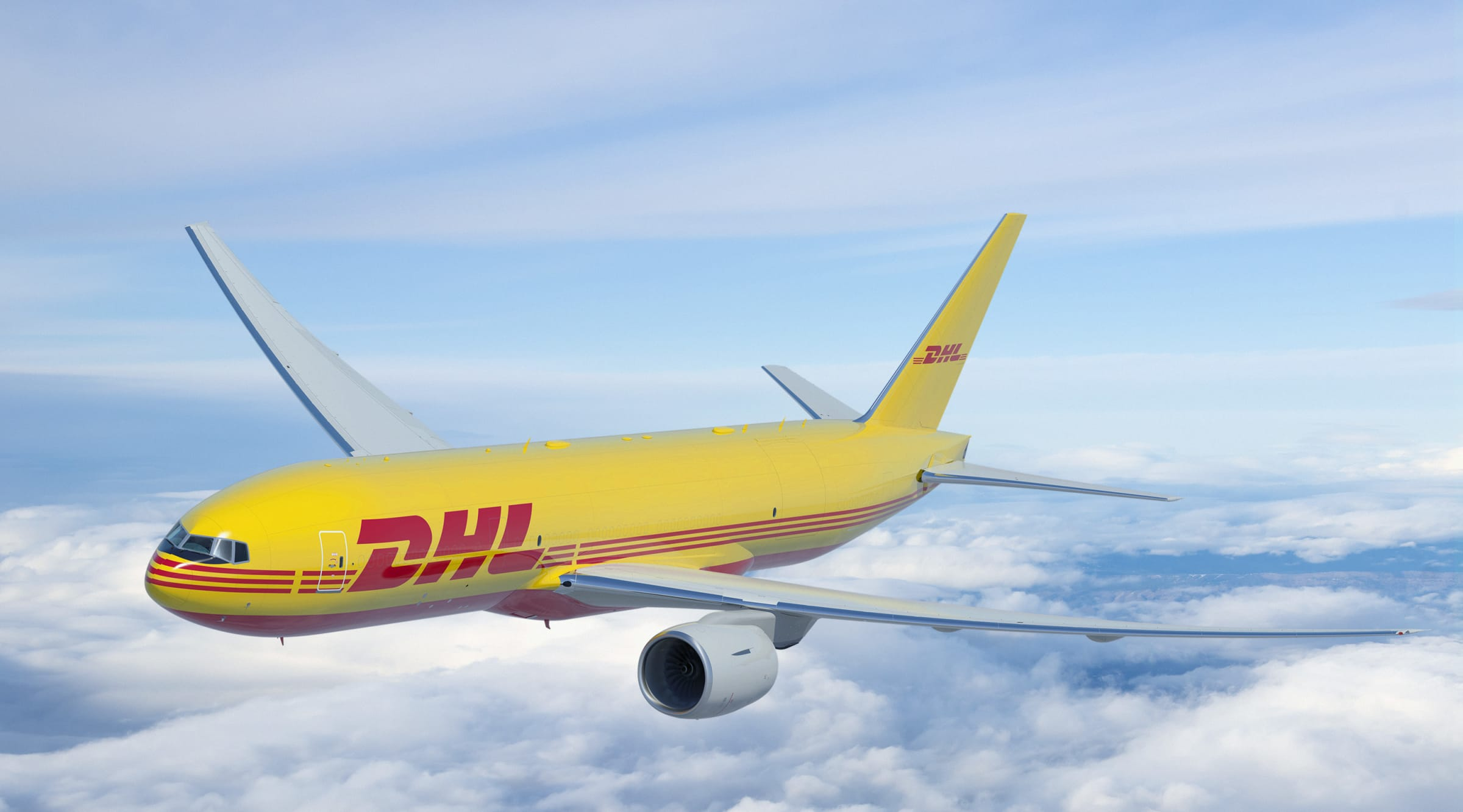 DHL Express oppgraderer sin flyflåte med seks nye Boeing 777 i år