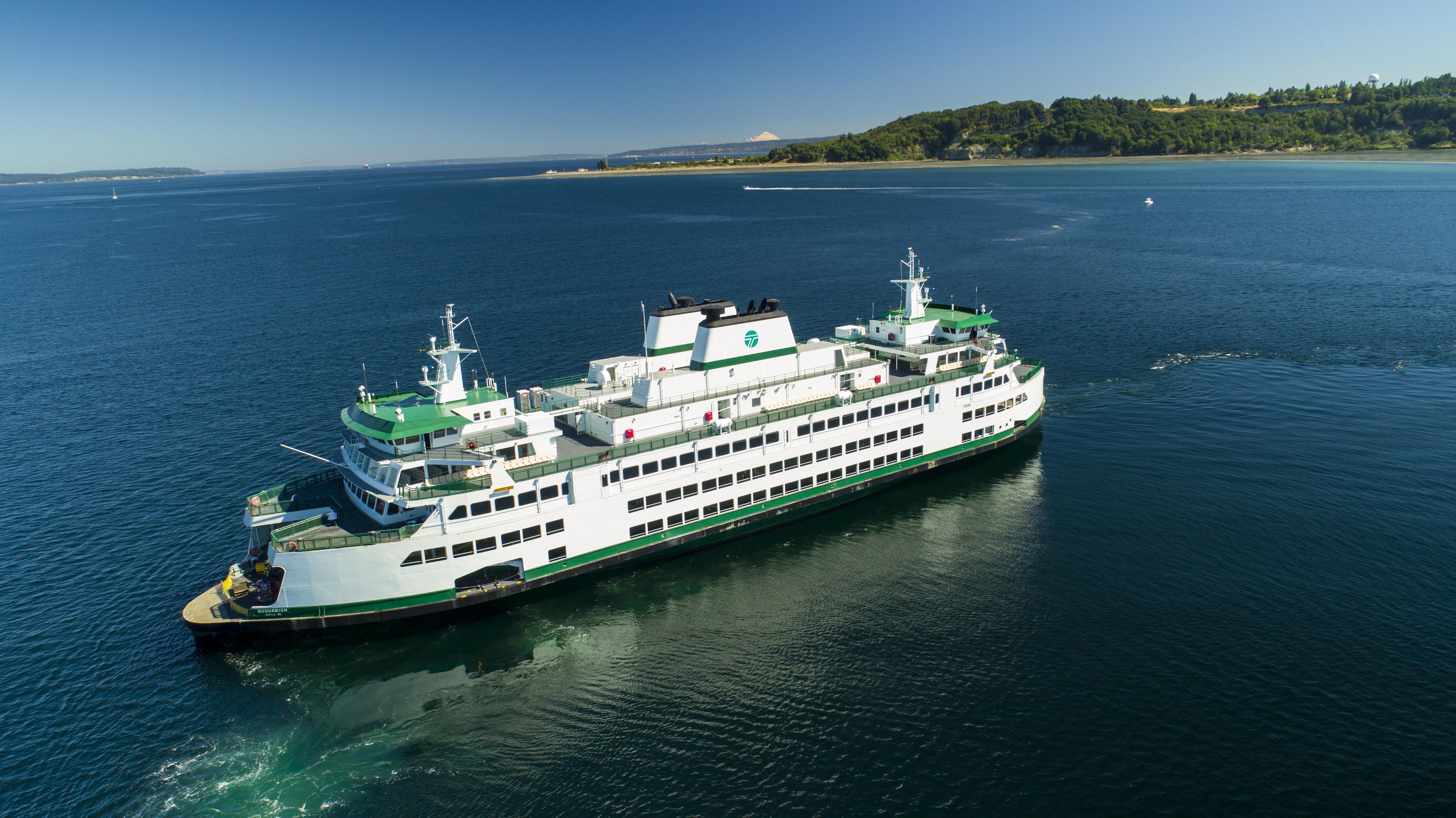 Baner vei for Washington State Ferries skifte mot nullutslippsflåte