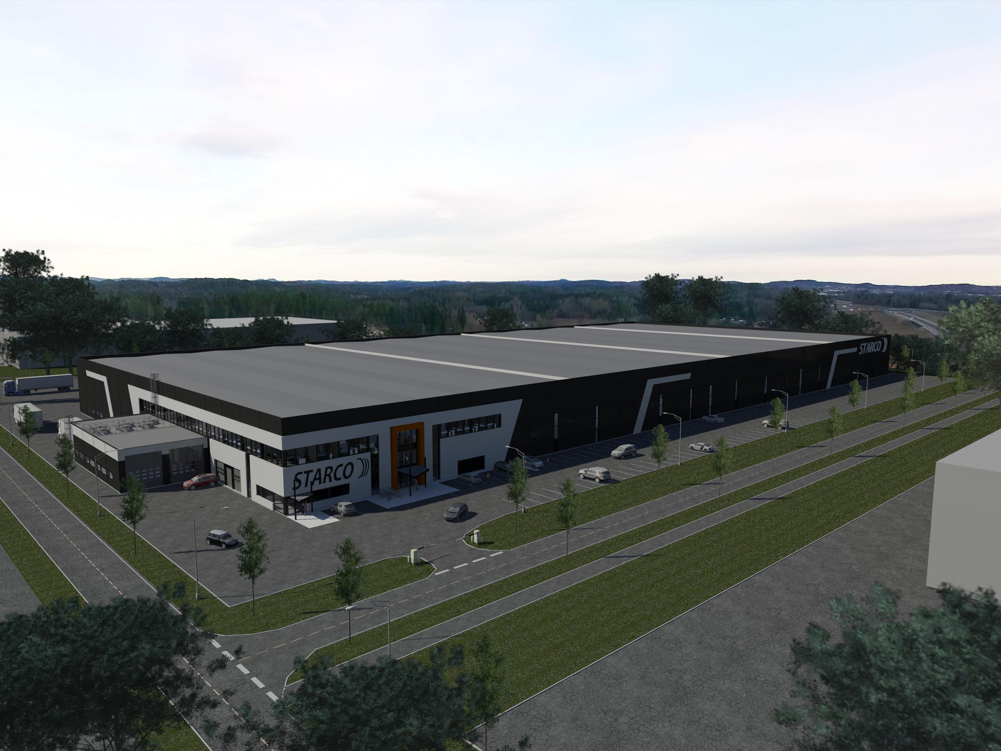 Bygger nytt lager for Starco Norge