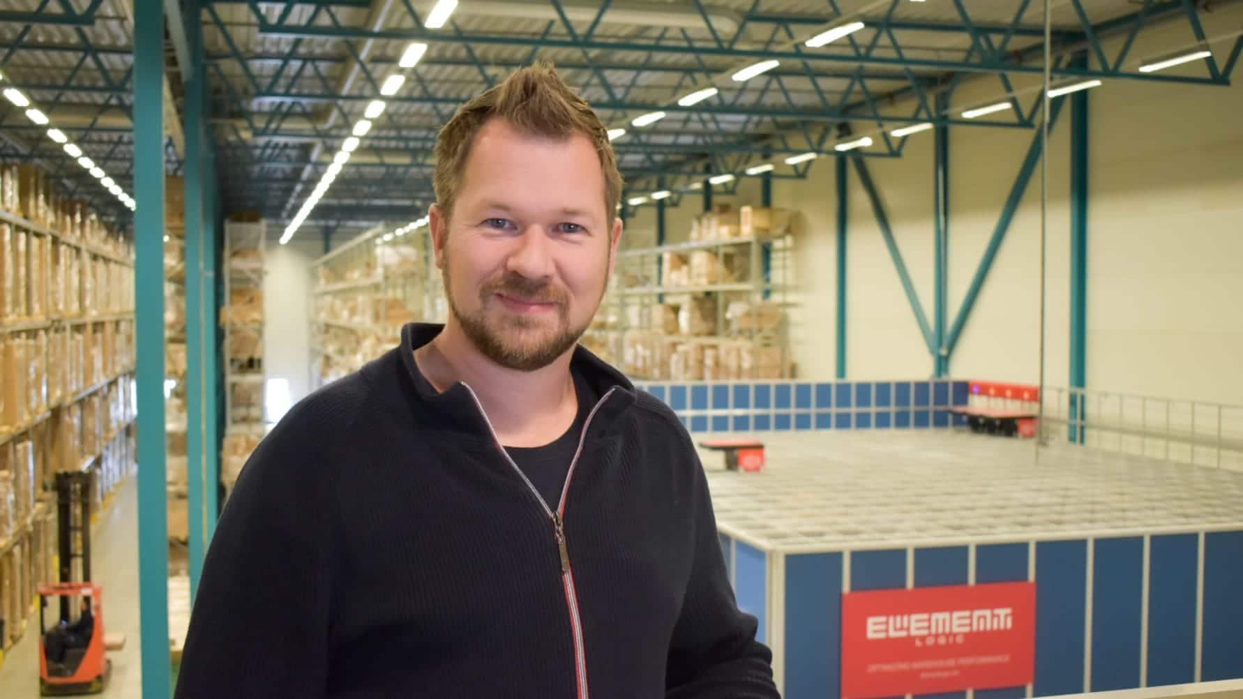 Richard Pedersen er ansatt som ny innkjøps- og logistikksjef i CBK Distribusjon AS