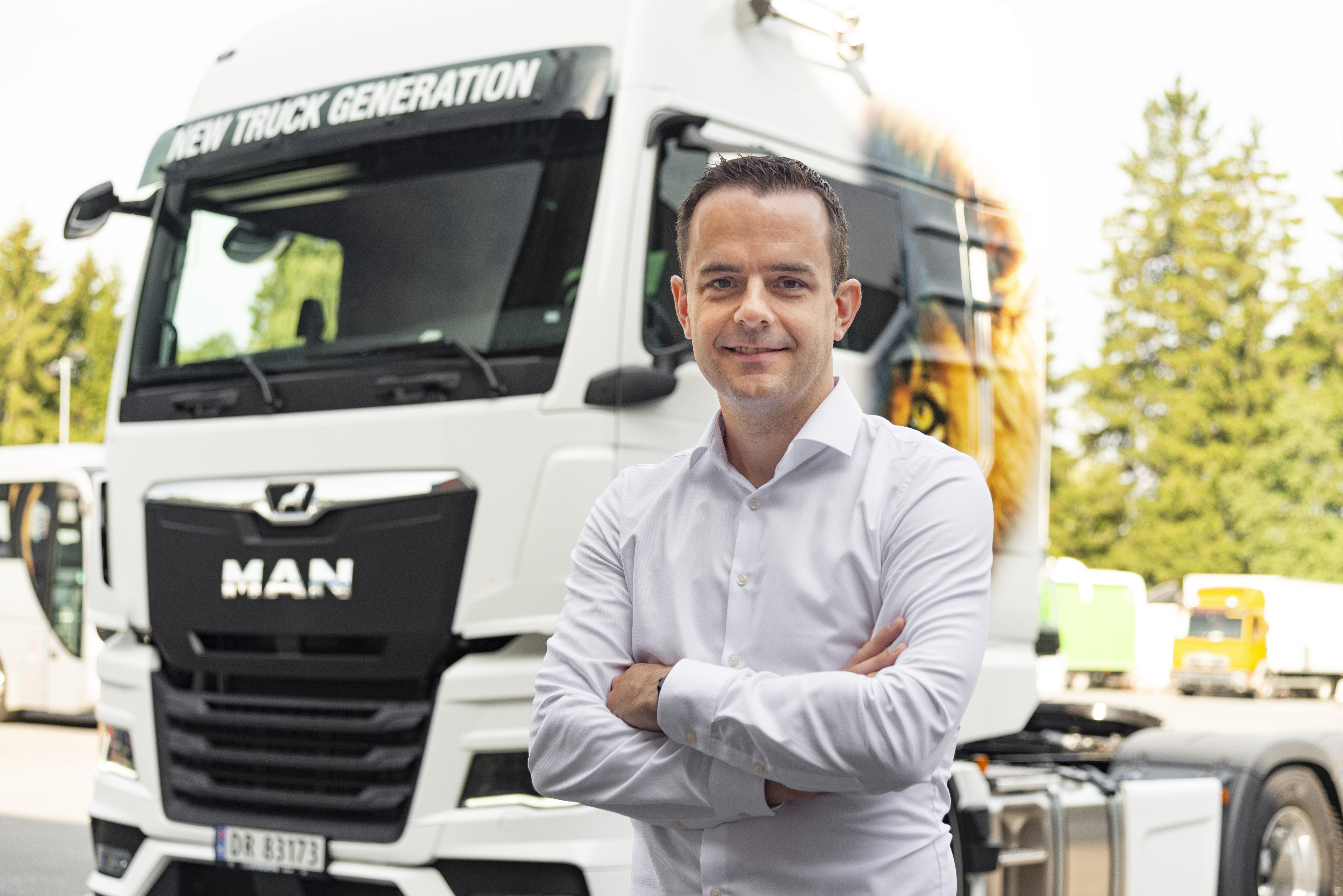 MAN styrker sin skandinaviske organisasjon for å sikre nærheten til det lokale markedet og forbedre kundeopplevelsen