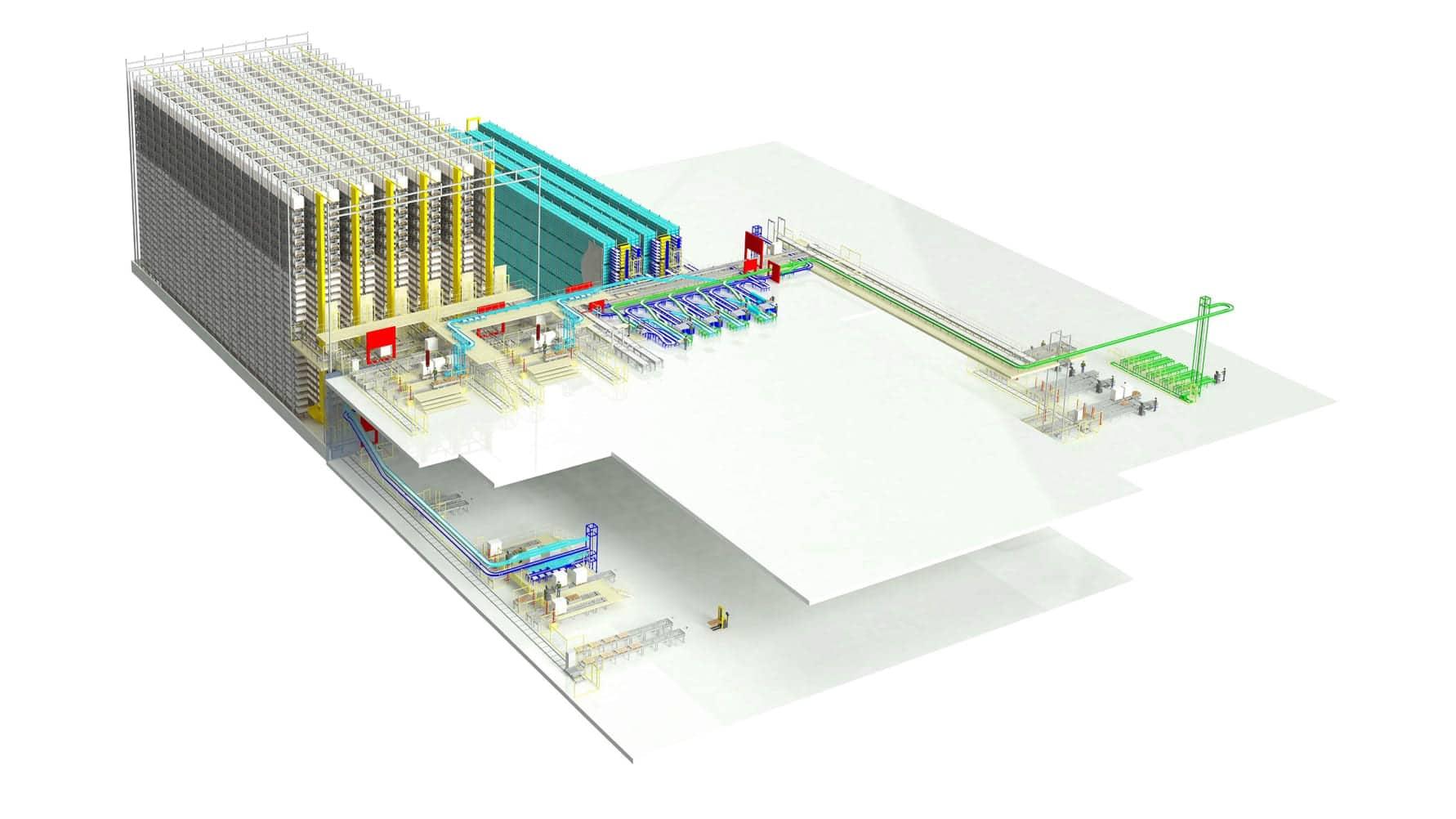 Automatisering av reservedelslogistikken for Liebherr