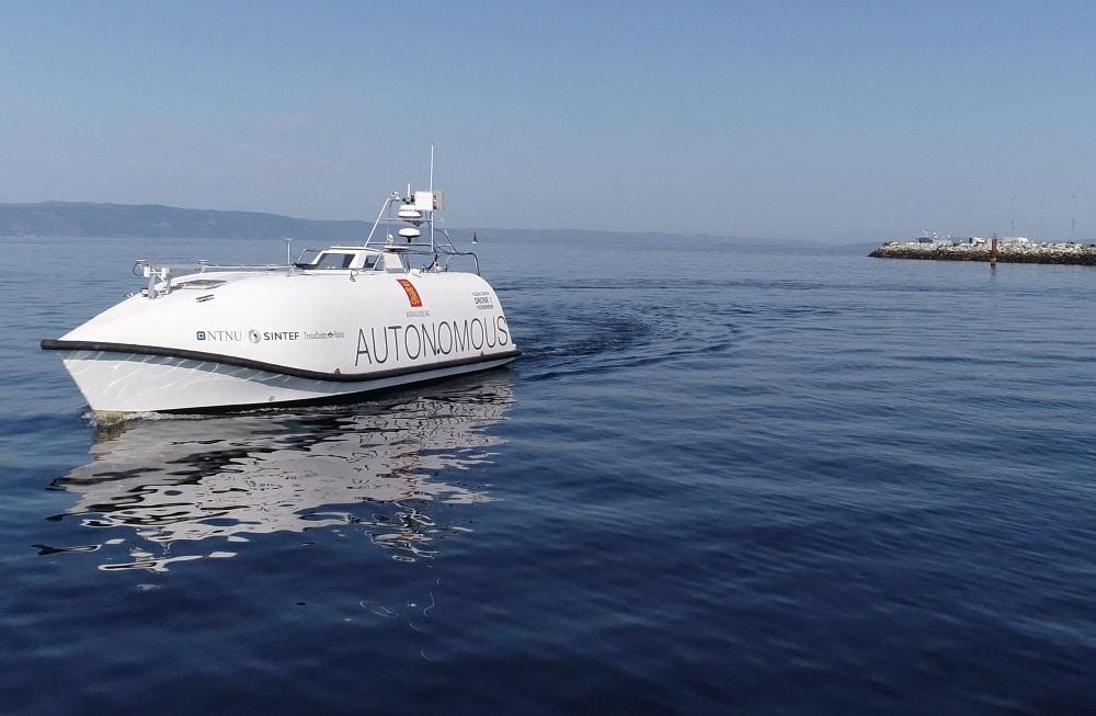 Veikart for smarte og autonome skipstransportsystemer