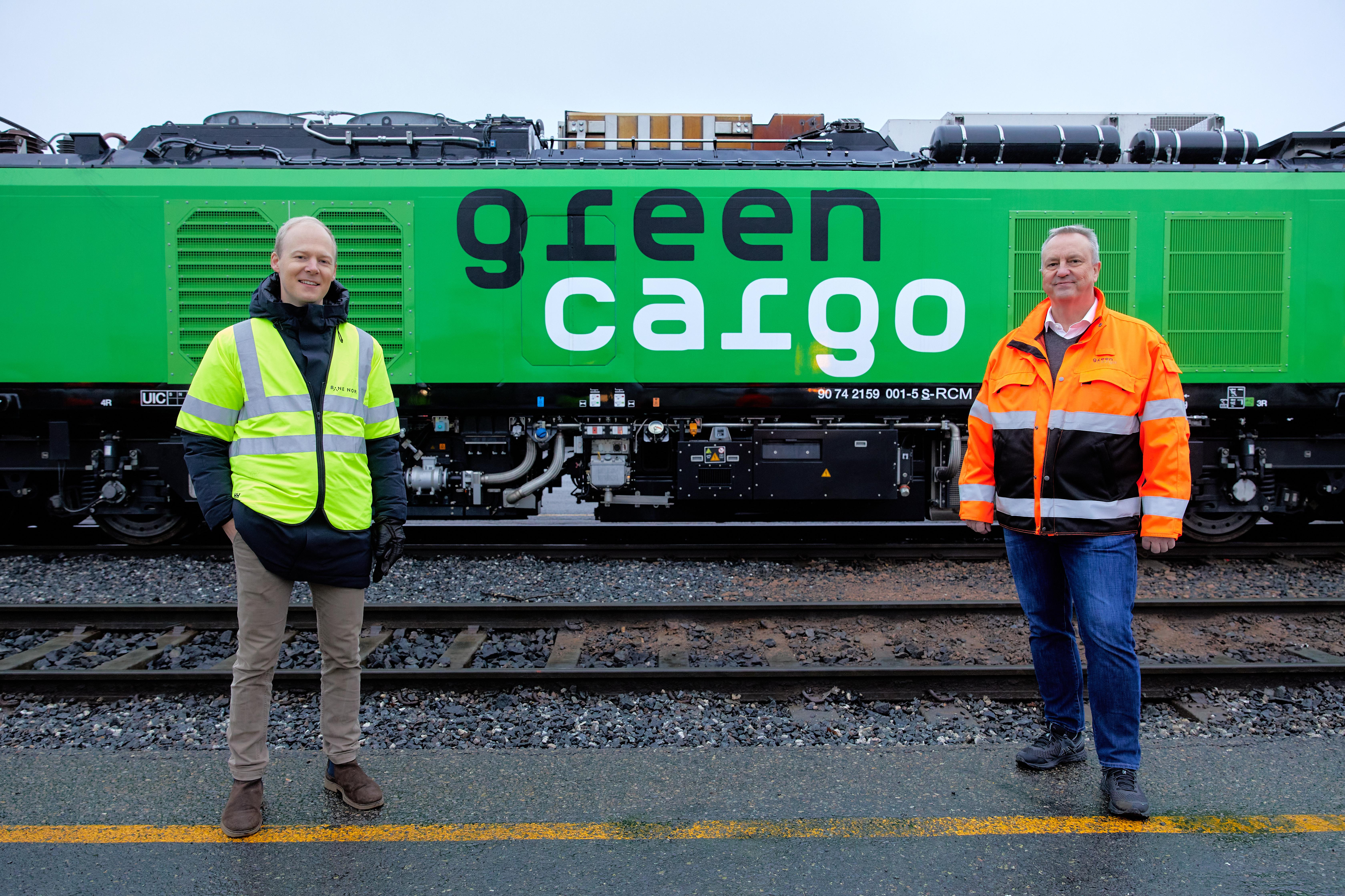 Green Cargo først i Norden til å ta i bruk Eurodual-lokomotivet
