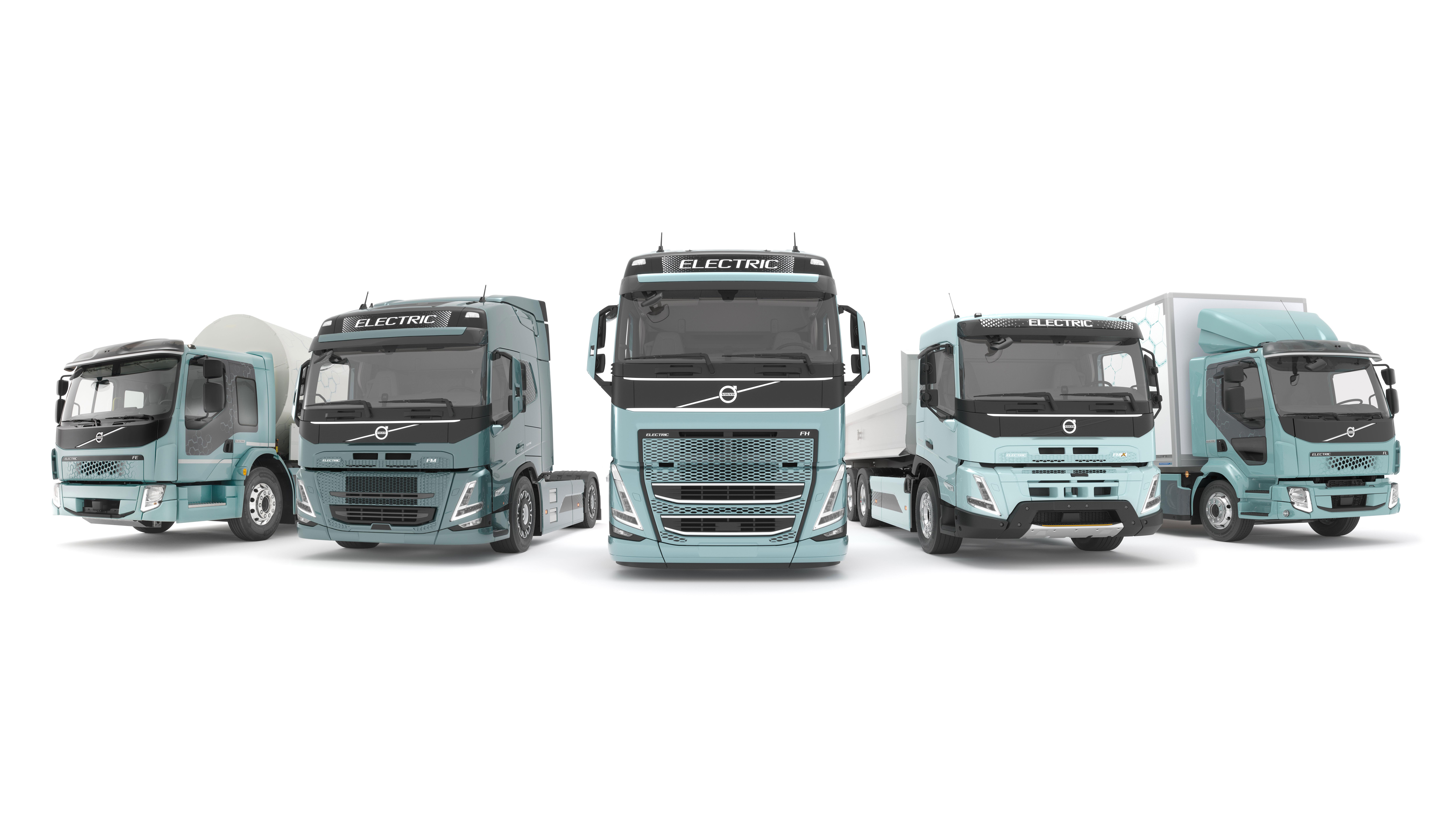 Lanserer et komplett utvalg av elektriske lastebiler i Europa fra 2021
