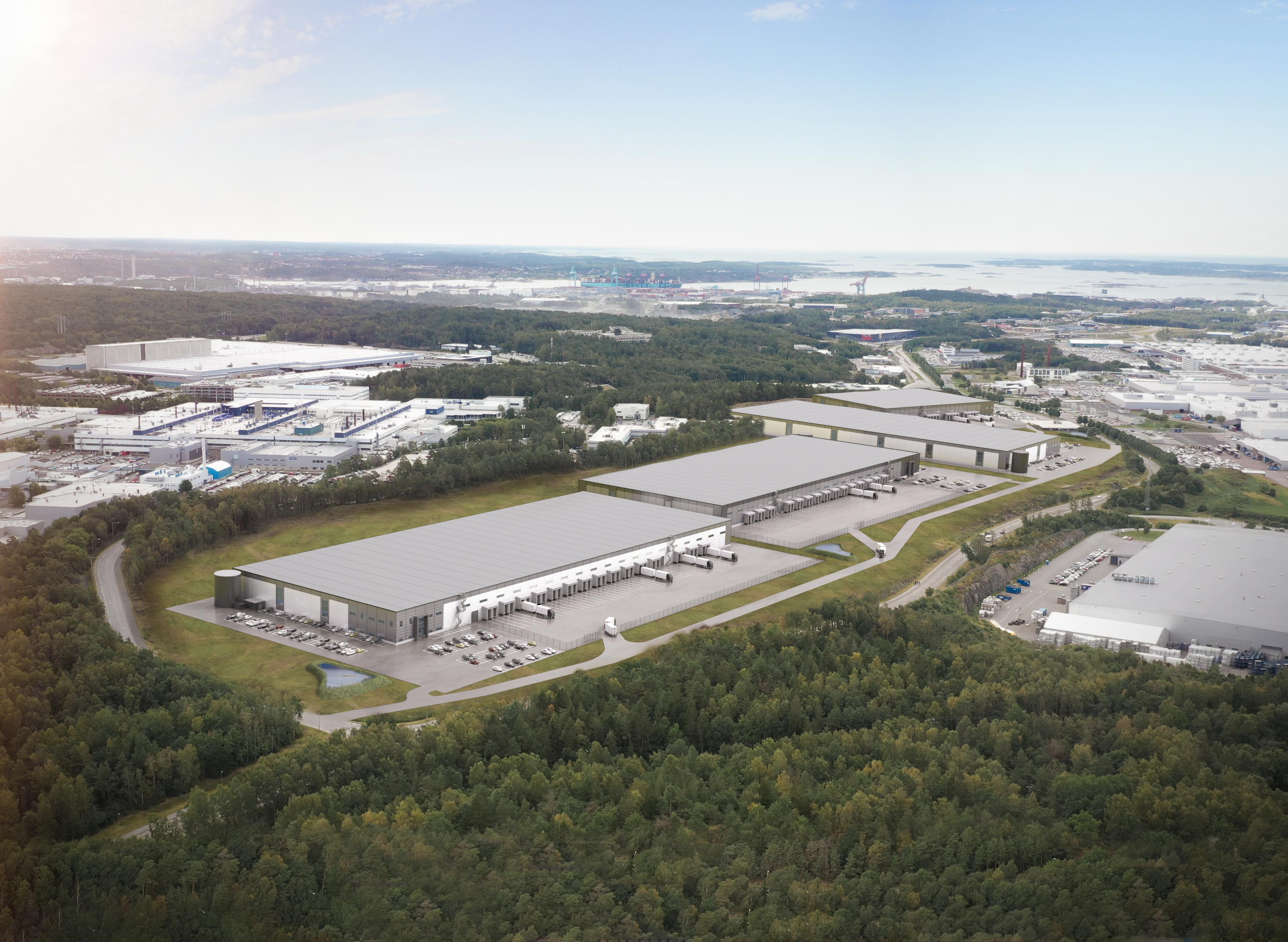 Ny logistikkpark på Hisingen i Göteborg