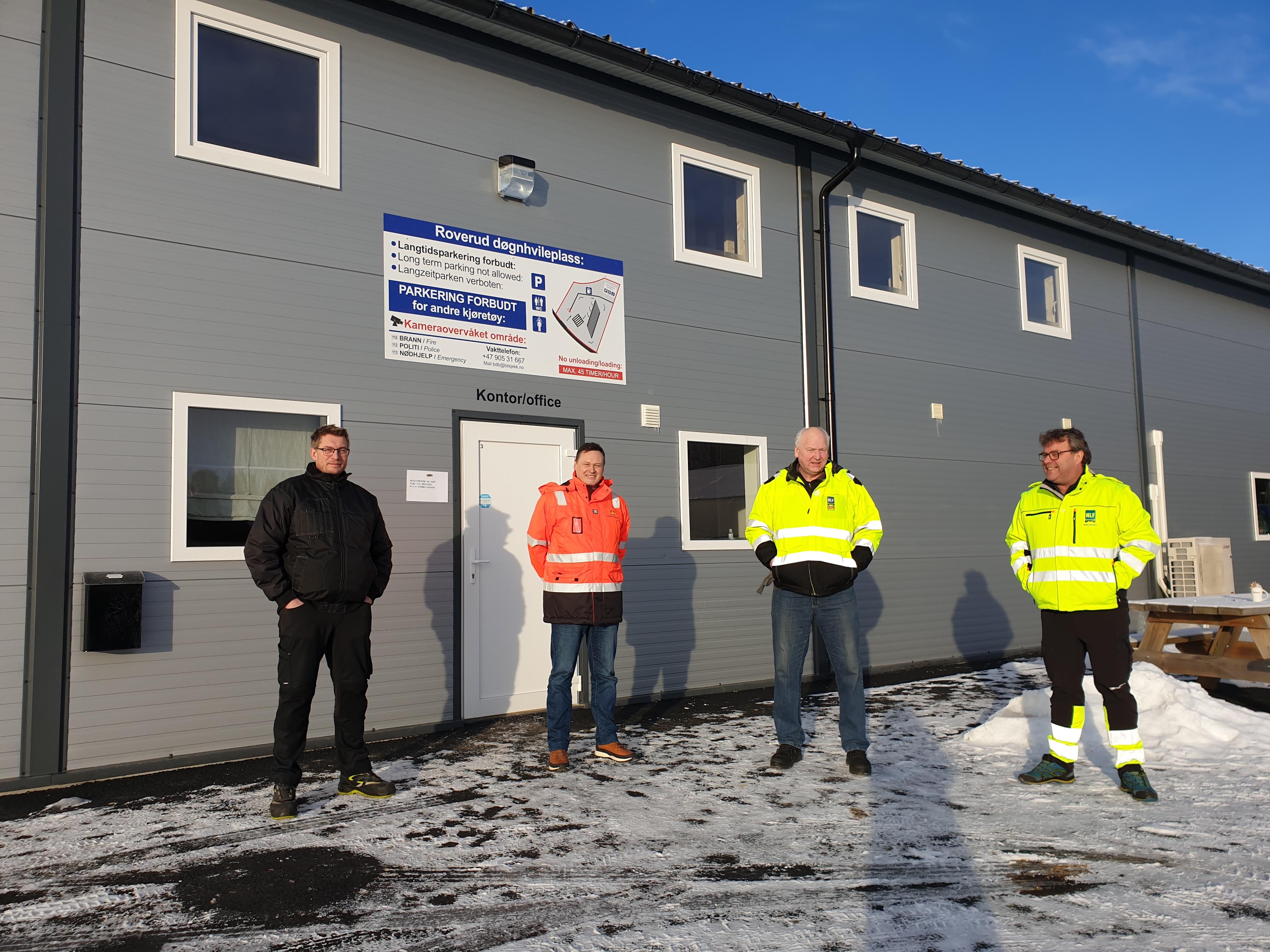Etterlengtet døgnhvileplass åpnet ved Kongsvinger