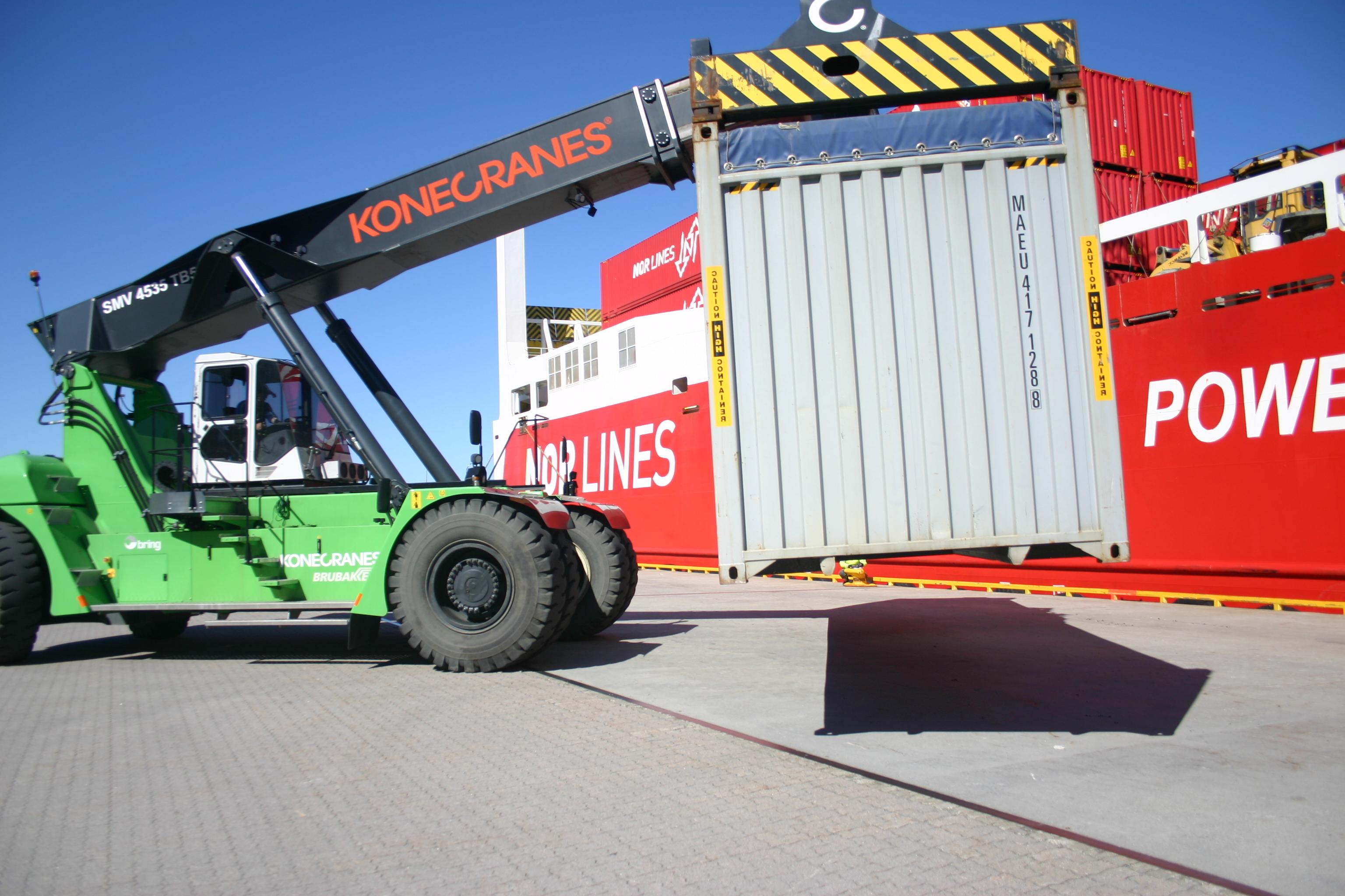 760 000 tonn flyttet fra vei til sjø med tilskudd fra Kystverket
