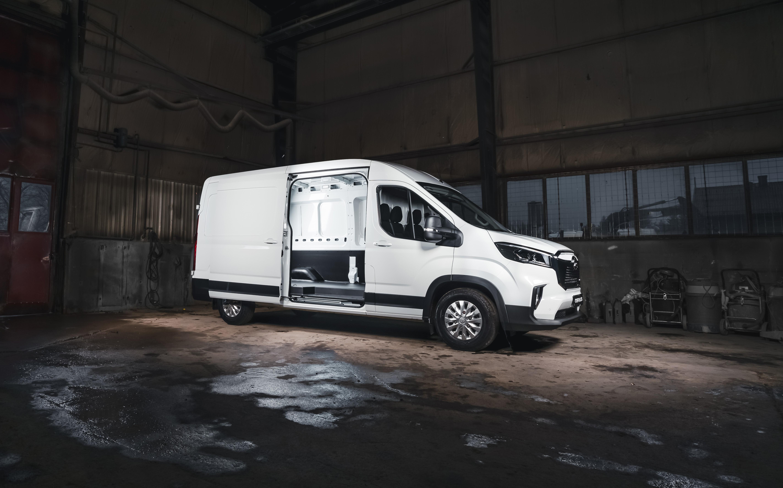 Ny, elektrisk varebil med maksimal plass og maksimal sikkerhet