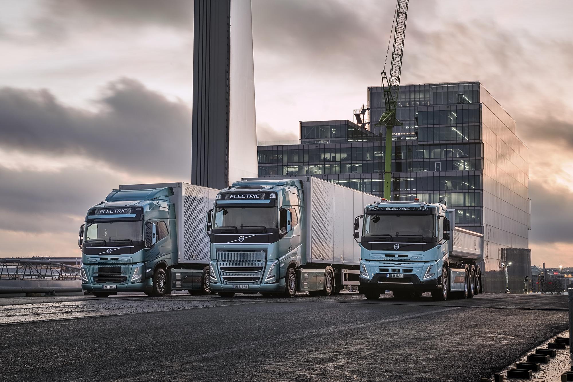 Volvo Trucks nå klar til å elektrifisere en stor del av varetransporten