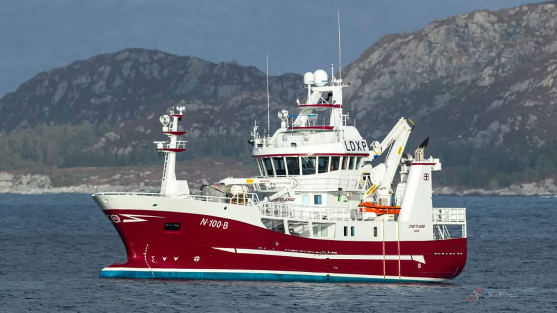 Enova justerer støttesatsene tilknyttet sjøtransport