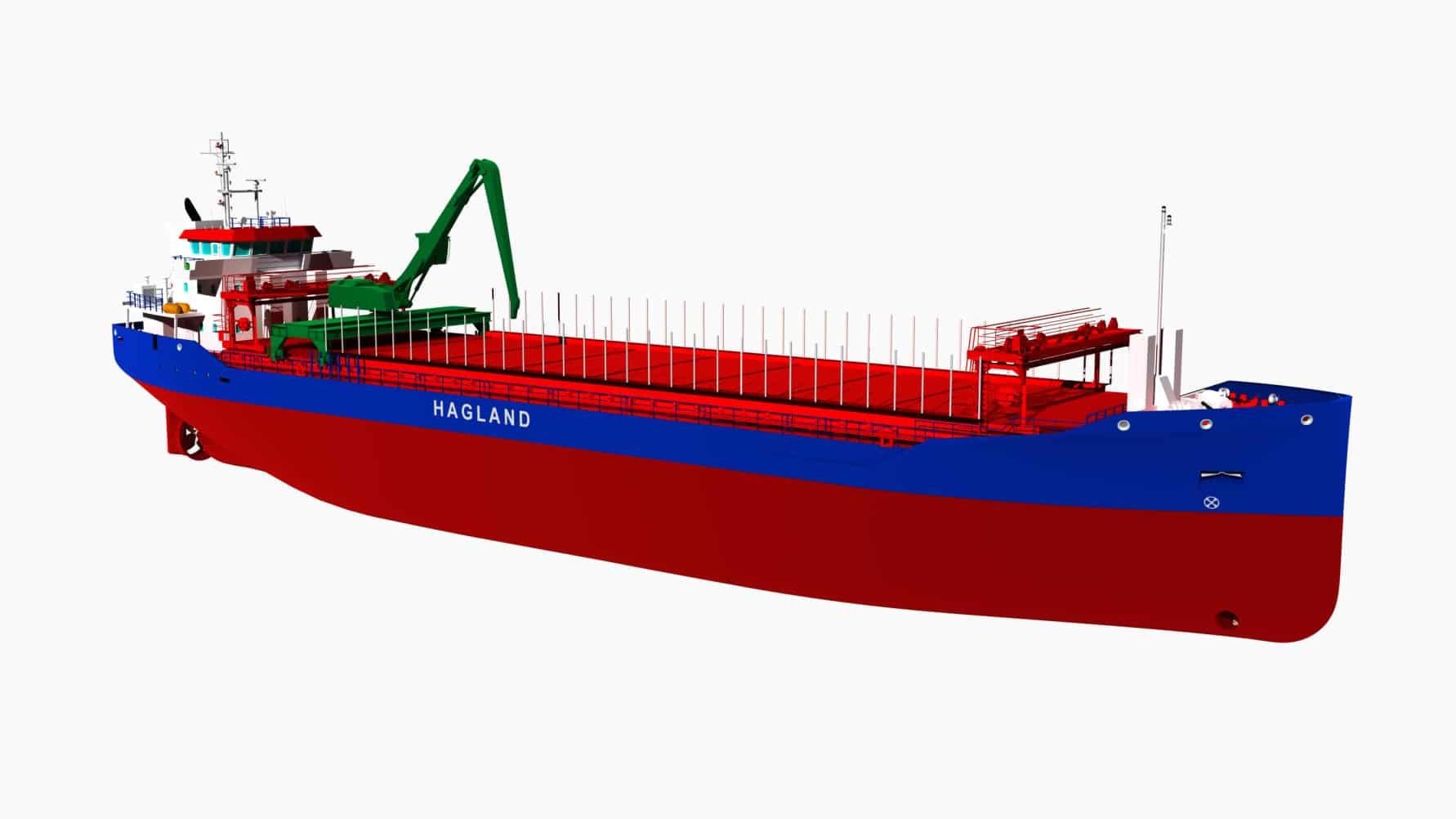 Hagland Shipping får støtte til to nye miljøskip