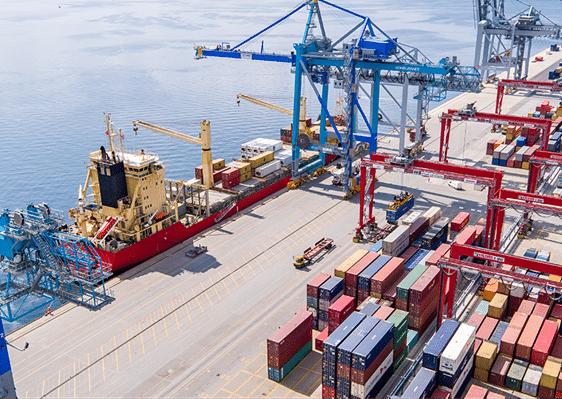 Fremmer en grønn omstilling i Norges største containerhavn