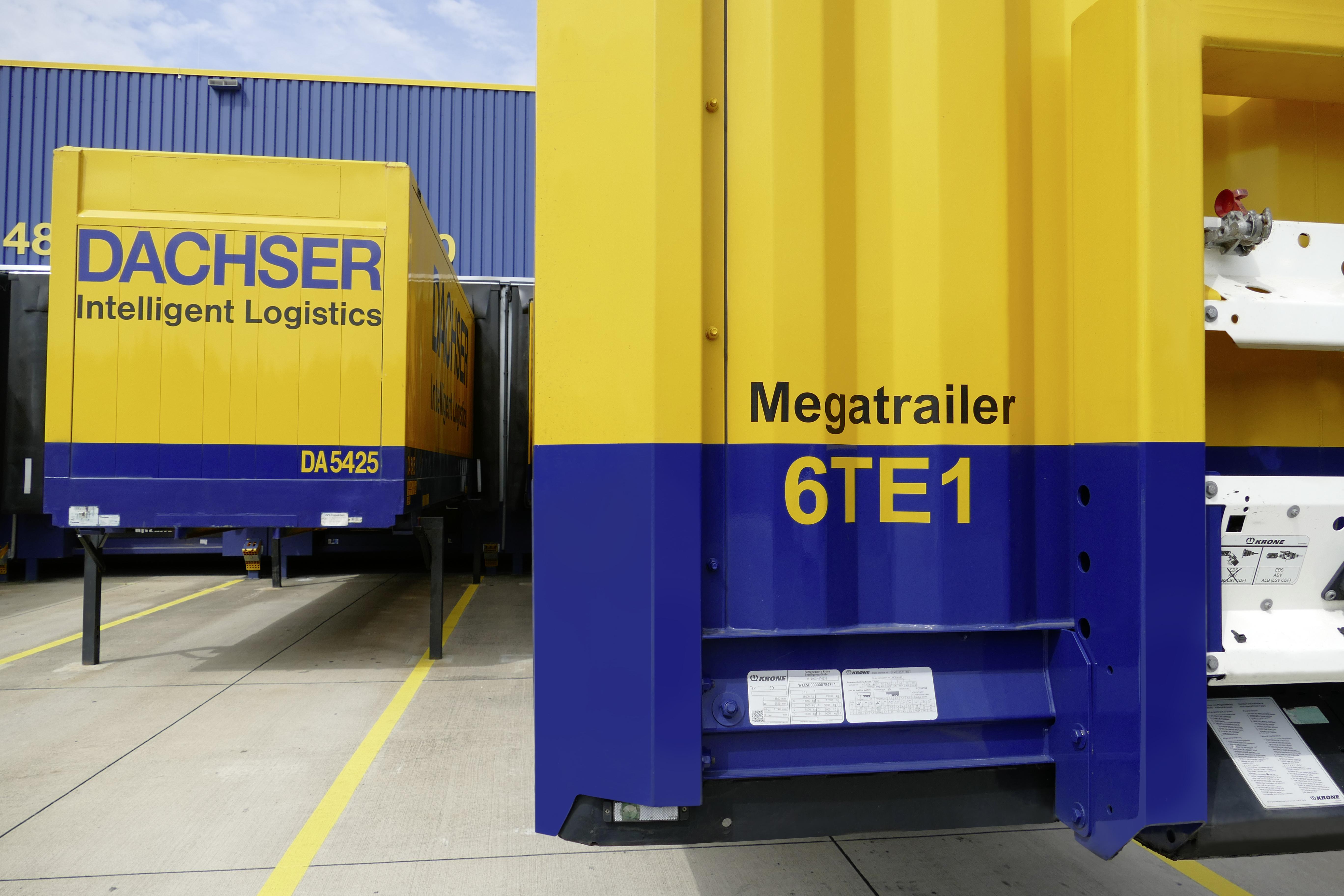 Dachser satser på trailere med større plass