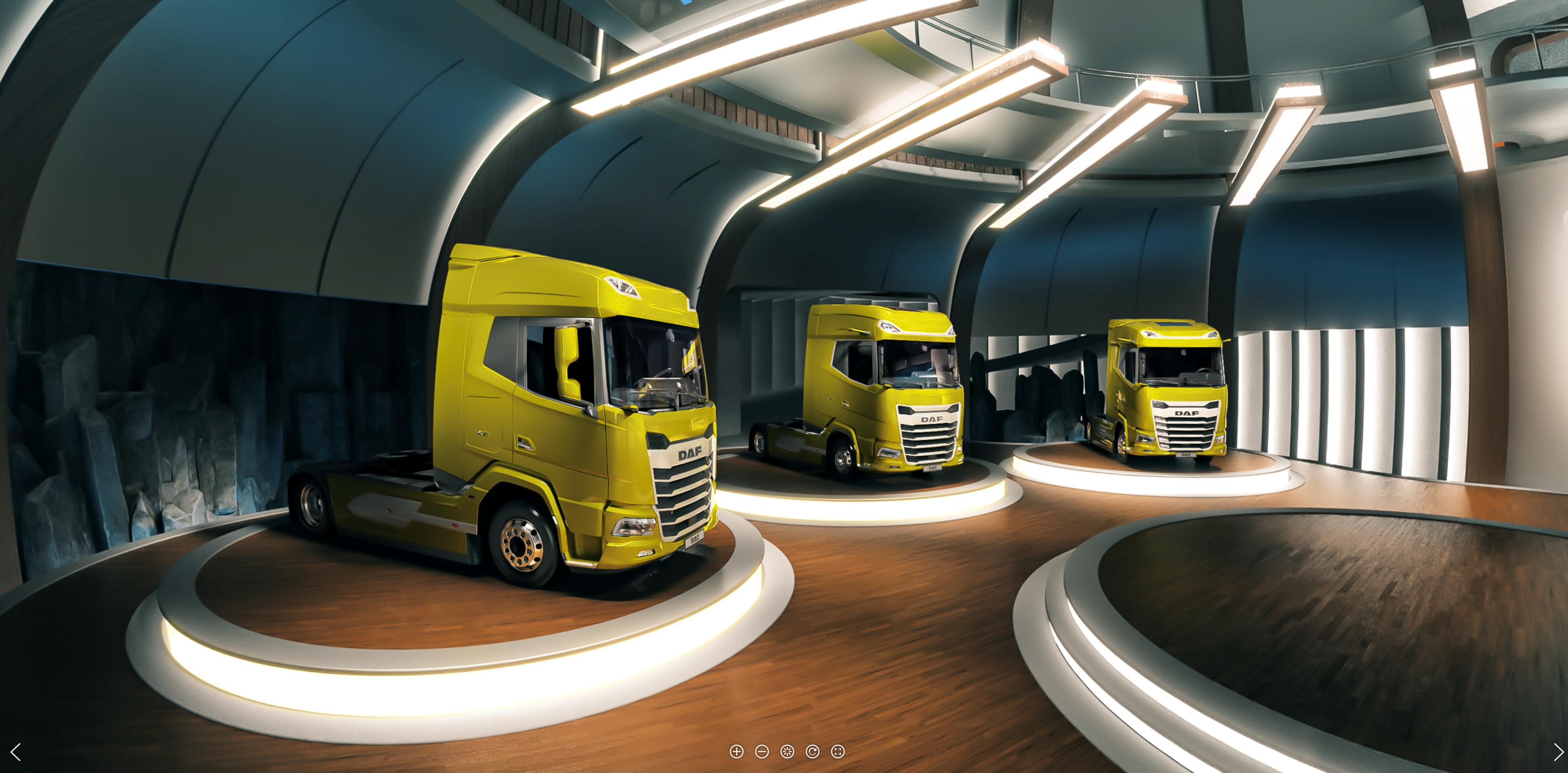 En ny generasjon DAF-lastebiler lanseres digitalt