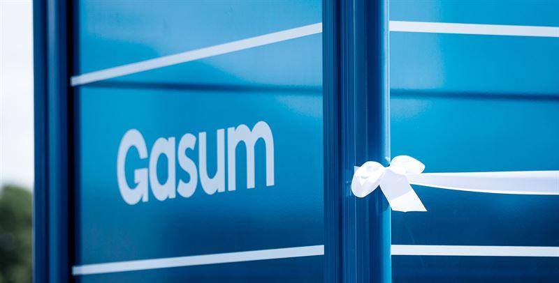 Gasums nyeste gassfyllestasjon har åpnet i Trondheim