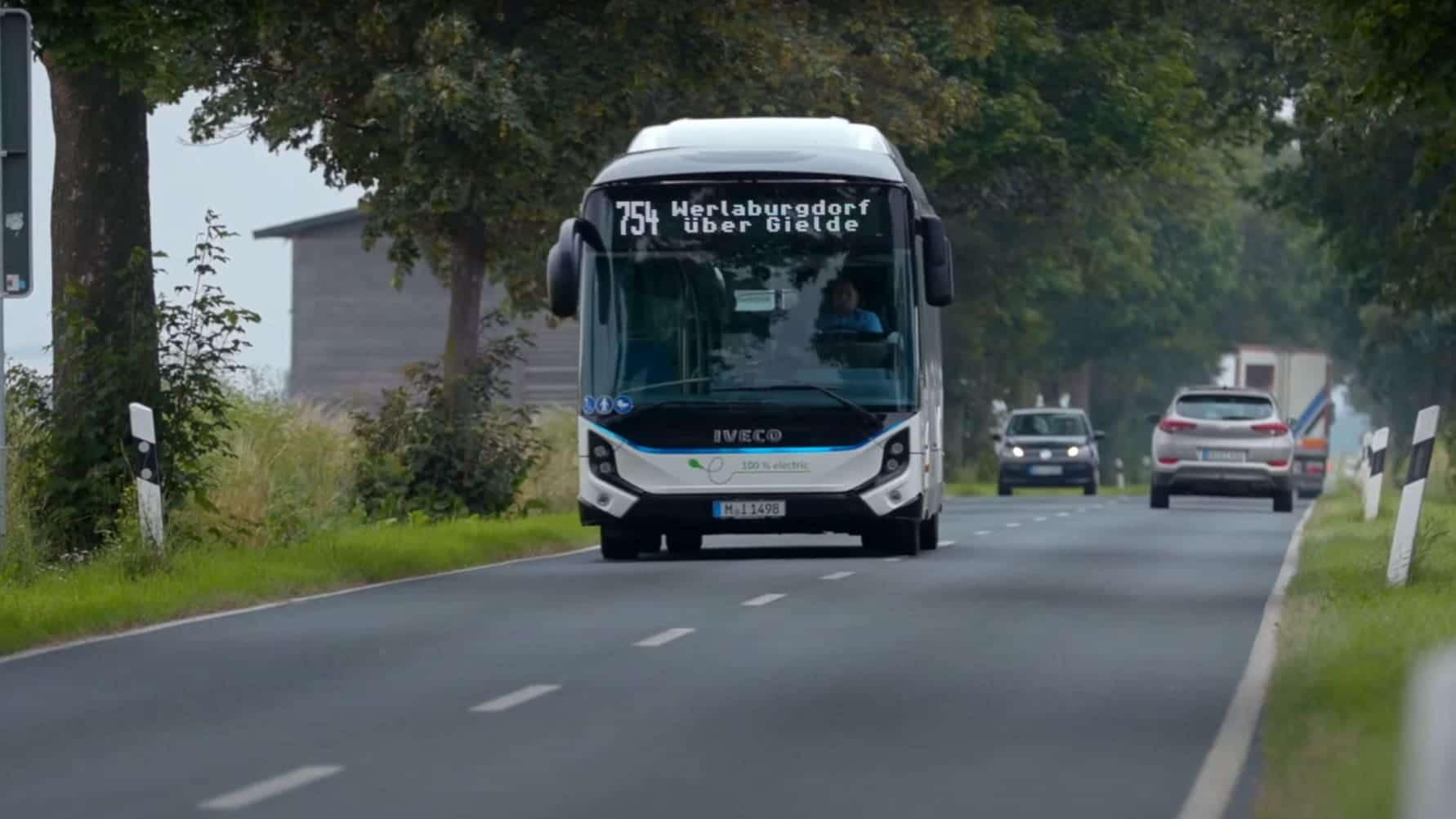 Ny rekkevidde for IVECO E-WAY: 543 km med fulladet batteri